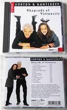 Horton & Kantcheff - Rhapsody Of Virtuosity .. CD TOP