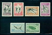 Guatemala MNH Scott #C171-C176 Central American Games CV$10+