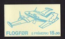 Isole Fær Øer 1985 aeroplani TIMBRO BLOCCHETTO SB4 UM OFFERTA SPECIALE b.o.g.o.f.