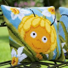 Vervaco Cross Stitch Cushion Kit: Maya in Daffodils