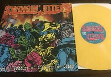 Swingin Utters A Juvenile Product  LP yellow vinyl nofx rancid street dogs