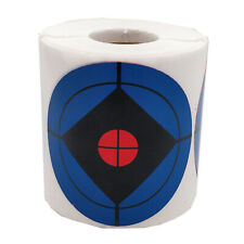250Pack Round Reactive Self Adhesive Shooting Splatter Targets Paper