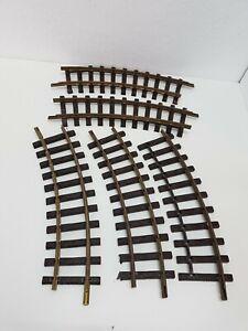LGB Kurven Schienen 5 Stück Nr. 1100 R600 Defekt/Bastler