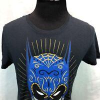 DC Comics Originals Batman Sugar Skull T Shirt Black Medium NWT XX20