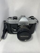 *Yashica Tl Electro Slr 35mm Slr Film Camera Body With Accessories*