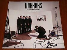 MIRRORS LIGHTS AND OFFERINGS 2x LP VINYL *LTD* GATEFOLD UK PRESS 2011 NEW Order