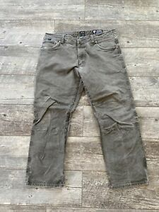 Kuhl Mens Rydr Vintage Patina Dye Pants Size 36x30 Hiking Outdoors Ryder Gray