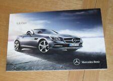 Mercedes SLK Brochure 2011 - SLK 200 250 350 SLK AMG Sport