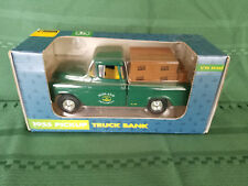 ERTL JOHN DEERE NIB 1955 Pickup Truck Bank 1/25 Sealed 1992 In the box