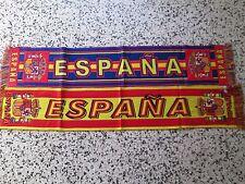 a1 lotto 2 sciarpe SPAGNA football federation calcio scarf spain espana lot