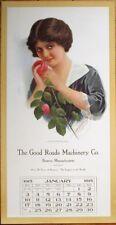 Glamour Woman 1915 Large Advertising Poster / Calendar- Boston, MA Massachusetts