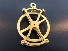 """Large fancy 2"""" pulley for Seth Thomas and other weight driven clocks"""