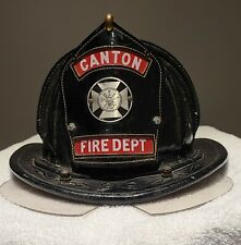 Cairns Vintage 5A New Yorker Leather Fire Helmet.