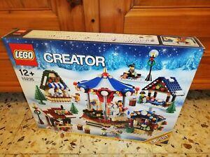 LEGO CREATOR EXPERT 10235 Winter Village Market - New & Sealed MISB