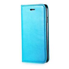 Universale Tasche mit Kartenfach für Handys in Blau