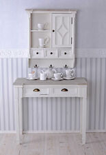 CONSOLE TABLE SHABBY CHIC CONSOLE ANTIQUE STYLE WHITE WALL TABLE