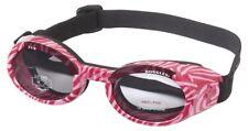 Doggles ILS Sunglass Small Pink Zebra Frame/smoke Lens