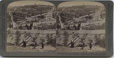 Jerusalem Stereo Vintage Argentique 1899