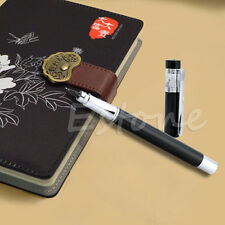 Hero 360 Degree Extra Fine Nib Black Fountain Pen High Quality