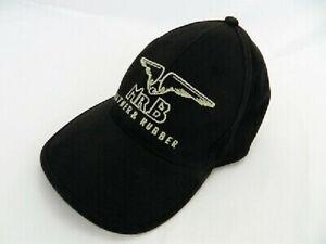 MISTER B BASEBALL CAP BLACK FABRIC EMBROIDERED BDSM MENS FETISH CAP FROM MR B