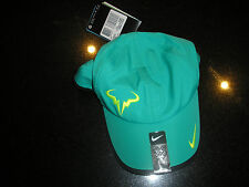 NIKE RAFA NADAL BULL LOGO DRI FIT CAP NEW WITH TAGS MODEL 398224 371 VERY RARE