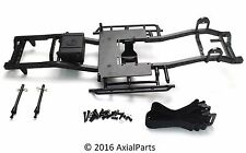 RC4WD Trail Finder 2 Built Scale Aluminum Chassis T Case Mount Radio Box Sliders