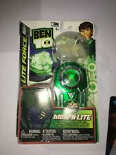 Ben 10 Morph Lite Force Figure & Omnitrix Ultimate Humungousaur, READ NEW