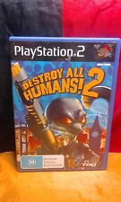 Destroy All Humans! 2 - Sony PS2 PAL - Includes Manual