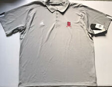Adidas Sz 4XL Authentic NC STATE WOLFPACK Players Gray Short Sleeve Polo NWT