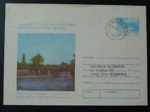 bridge postal stationery Romania 79563