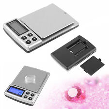 Digital Scale 2000g x 0.1g Jewelry Gold Silver Coin Grain Gram Pocket Size Herb