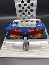New listing ☀� Oakley Frogskins 35th Anniversary Blue Frame Prizm Red Lenses Nwot Free S/H
