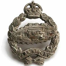 Original WW2 Royal Tank Regiment Corps Collar Badge - VW31