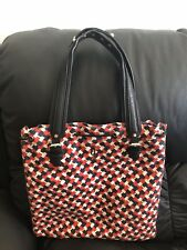Juicy Couture Women's Handbag With Gold Studs On Leather Handles