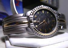 Brand New Mens Reymand Jewel Gun Metal & Gold Watch Lower Price! 1 Year Warranty