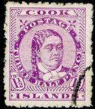 COOK ISLANDS  SG42, 1½d deep mauve, FINE USED. Cat £18. PERF 14.