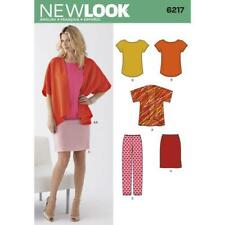 New Look Sewing Pattern 6217 Misses Ladies Kimono Style Jacket Size 10-22 UC