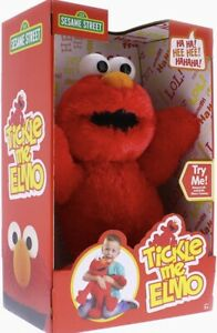 Sesame Street Tickle Me Talking Elmo with over 20 sounds RRP £29.99 Age 3+