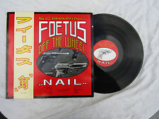 SCRAPING FOETUS LP OFF THE WHEEL NAIL womb fip4 plays great...... 33rpm / rock