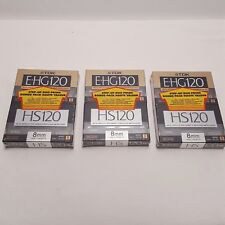 TDK Maxell EHG 120 8mm Video Cassette Tape  CamCorder LOT 6