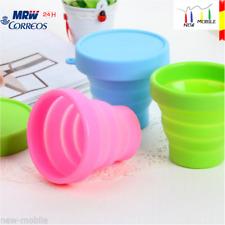 Esterilizador Plegable de Silicona para Microondas Copa Menstrual Tetina Biberón