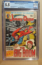 SUPERMAN'S PAL JIMMY OLSEN #138 CGC 5.5 off - white to white - 2092012001 - 1971