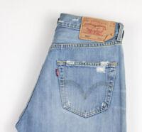 Levi's Strauss & Co Hommes 501 Droit Jambe Jeans Vieilli Taille W32 L30 ALZ1032
