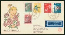 Mayfairstamps Netherlands FDC 1959 Children Combo First Day Cover wwr_12059