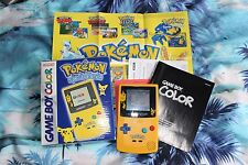 Backlit Pokemon Nintendo Gameboy Color Boxed