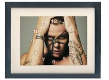 Conrad Sewell. A high quality framed print and clock. Australian singer.