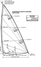 Intensity Sails Radial Sail for Laser® Sailboat