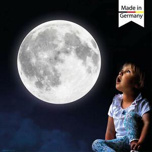 Pegatinas Luminosas Luna Leuchtmond Cielo Estrellado Dormitorio Infantil