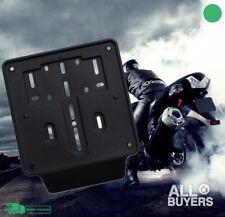 PortaTarga Supporto Targa MOTO  UNIVERSALE Scooter Motorino porta targa - Nero