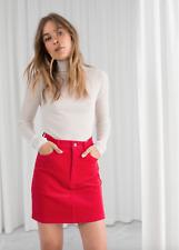 & Other Stories Corduroy Mini Skirt